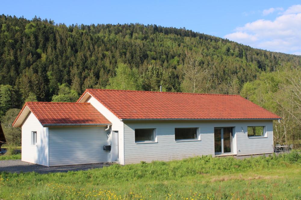 Maison plain pied ossature bois 125 m²