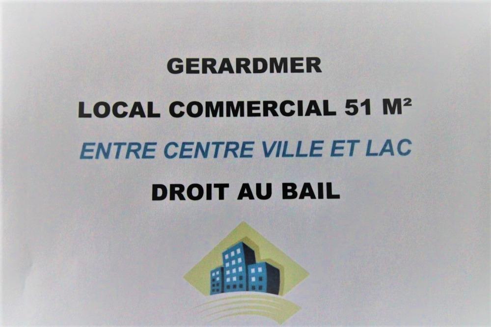 Gerardmer Local commercial Axe passant Lac / centre ville