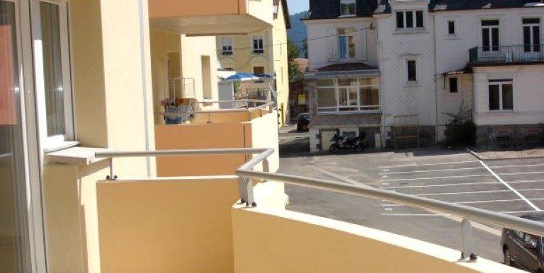 0607 Am Le Balcon côté Est vers la Rue Piétonne