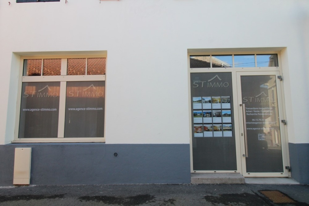 vitrine agence immobiliere