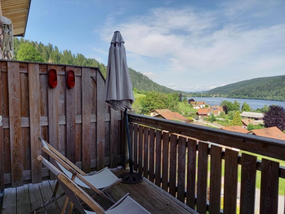 Gérardmer, T2 avec Magnifique Vue Lac et Grande Terrasse